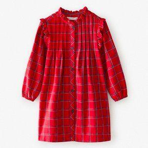 ZARA KIDS PLAID SHIRT DRESS